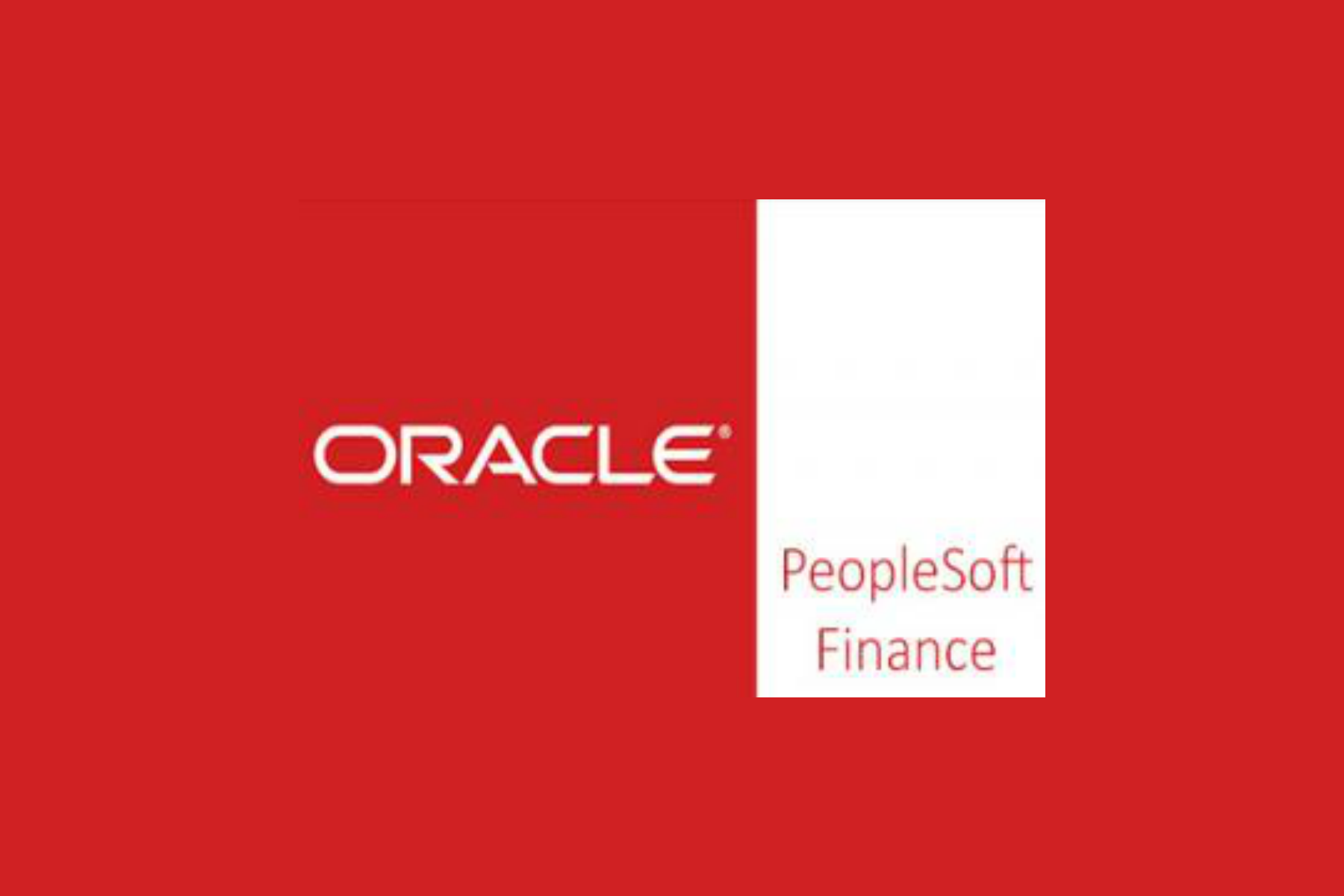 PeopleSoft Finance Training in Chennai
